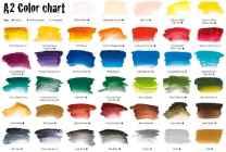 A2-Art-Student-Acrylic-Paint-Colour-Chart