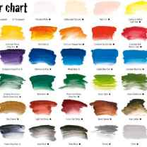 A2-Art-Student-Acrylic-Paint-Colour-Chart